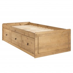 Corona Cabin Solid Pine Bed 3ft Single