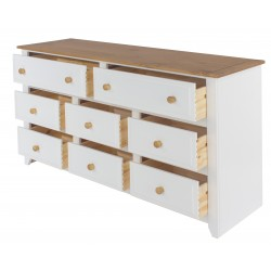 Capri 6 + 2 Wide Chest of Drawers