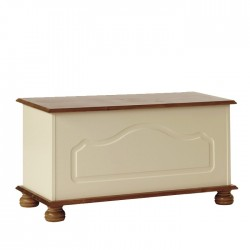 Copenhagen Blanket Box in cream
